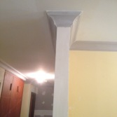 new cornices to lounge room