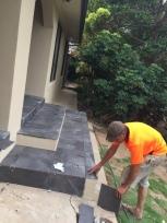 Ancell Crt porch tiling